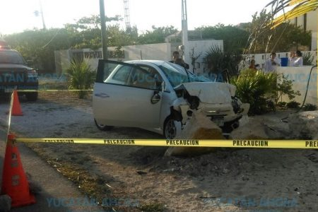 Muere prensado en la carretera costera Uaymitún-Telchac Puerto