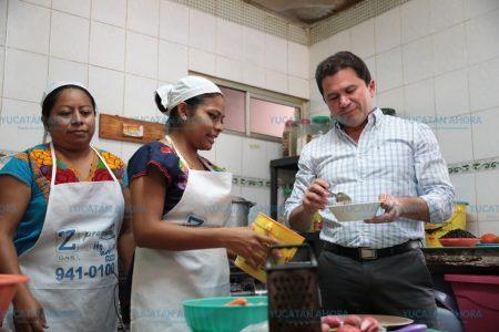 Llamado de Mauricio Sahuí a fortalecer la economía familiar