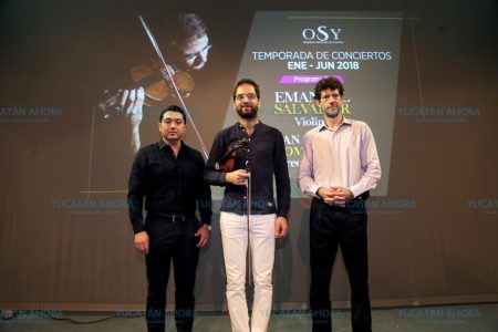 Violinista portugués rinde homenaje a insigne compositor mexicano