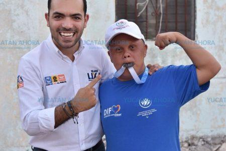 Elías Lixa propone más apoyo a deportistas con discapacidad