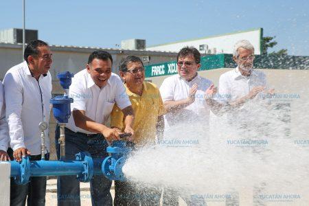 Agua potable, garantizada para la temporada de calor