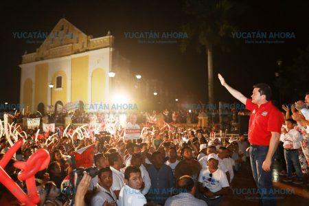 Mauricio Sahuí ofrece mejor planeación para Hunucmá y la zona poniente