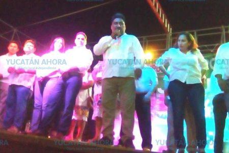 Arranca campaña el PRI en Tixcacalcupul