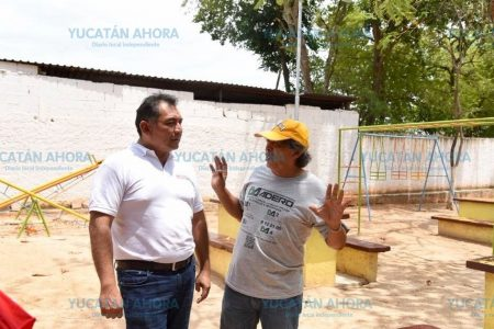 Planea Víctor Caballero cambiar el concepto de los parques públicos