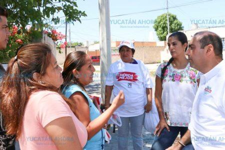 Piden a Felipe Cervera fomente el auto empleo y más comercios en el sur de Mérida