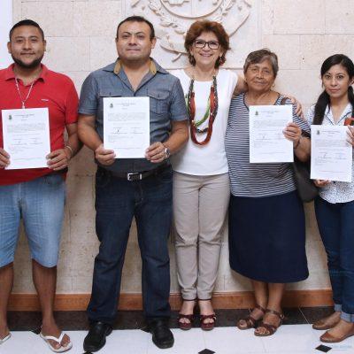 Locatarios regularizan su situación en el mercado grande de Mérida