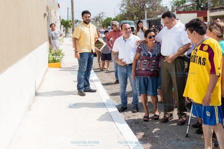 Supervisan la seguridad para los peatones en colonias del sur de Mérida