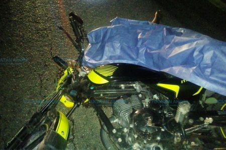 Motociclista paga con su vida no aceptar las recomendaciones de usar casco