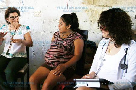"""El equipo de """"Médico a Domicilio"""" ya detectó a 82 meridanas embarazadas"""