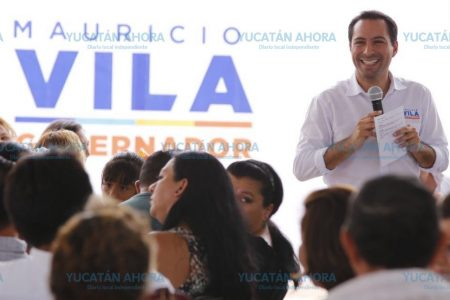 Una de las principales demandas en Yucatán es invertir en educación: Vila