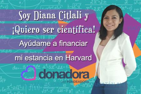 Yucateca pide ayuda para ir a la universidad de Harvard y ser científica