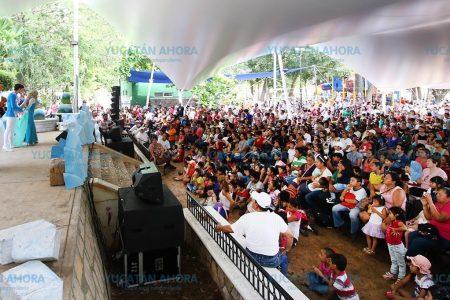 Con la obra 'Frozen' celebran el Día del Niño en el zoológico del Centenario