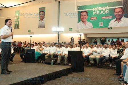 Mauricio Sahuí ofrece sumar esfuerzos basados en la experiencia para detonar Mérida y Yucatán