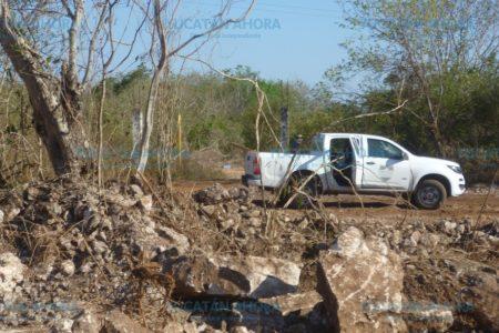 Guarda-parques  descubren extracción de tierra en la Reserva Ecológica Cuxtal