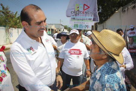 Los representantes del PRI sabemos responder a las expectativas: Felipe Cervera
