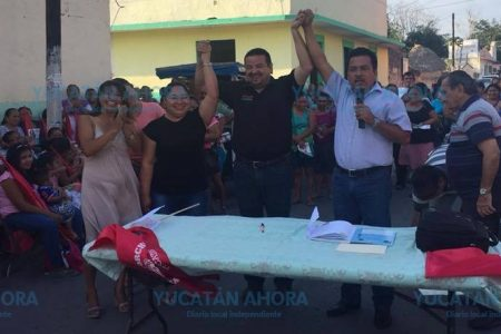 En Espita el Movimiento Antorchista apoyará al PRI