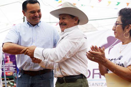 Nuestros barrios serán más culturales, promete Renán Barrera en homenaje a Pedro Infante