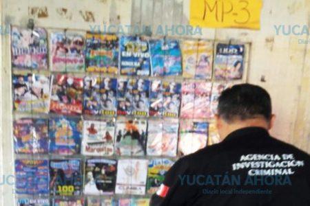 Piratería y mini-casinos de cuatro municipios ya están en manos de la PGR