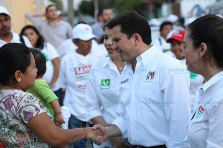 Somos la fórmula de la experiencia, dice Mauricio Sahuí en Chuburná y la colonia Mérida