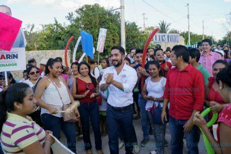 Se compromete Luis Borjas a estar atento a la opinión ciudadana y llevarla a Congreso
