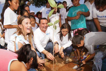 Invita Renán Barrera a sumarse a su propuesta de cuidado de la naturaleza