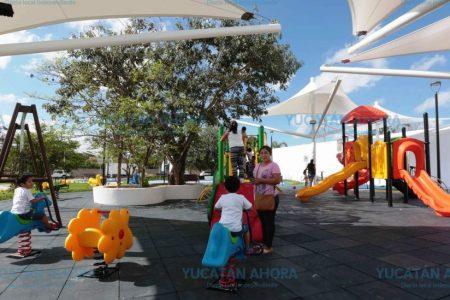 Remodelarán unos 26 parques más en Mérida este año