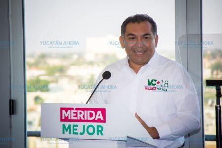 Víctor Caballero resolverá lo urgente y luego pactará el futuro de Mérida