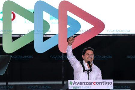 Desde Yucatán inicia la gran cruzada para ganar México: Mauricio Sahuí