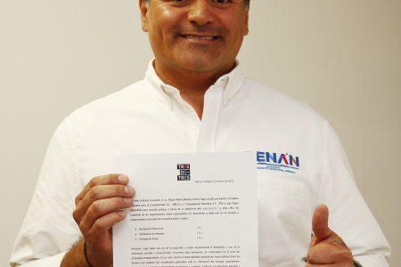 Transparenta Renán Barrera sus bienes y valores