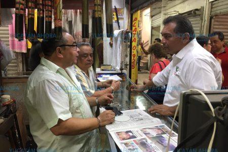 Víctor Caballero dispuesto a 'revivir' el mercado San Benito
