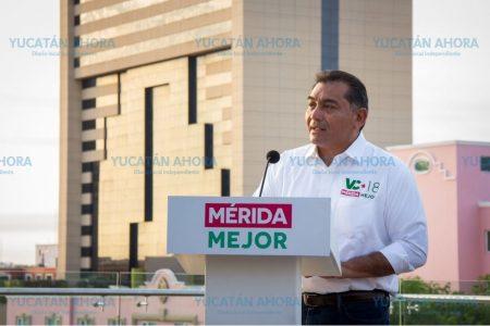 Con cuatro puntos planea Víctor Caballero mejorar la economía de Mérida
