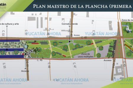 Proponen 'La plancha' como parque urbano modelo de la región
