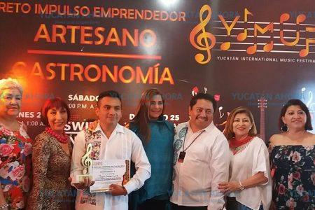 Premian a los ganadores del Yucatán International Music Festival