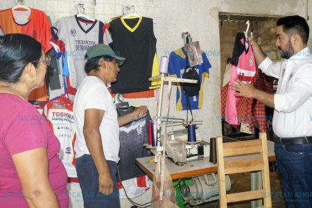 Cuando llegue al Congreso las pequeñas empresas familiares prosperarán: Borjas