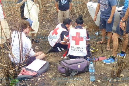 Meridano choca a turistas franceses y los manda al hospital