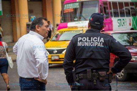 Víctor Caballero afirma que puede mejorar la seguridad en el centro de Mérida