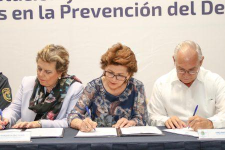 Alianza para ampliar el programa de prevención de drogas en Mérida