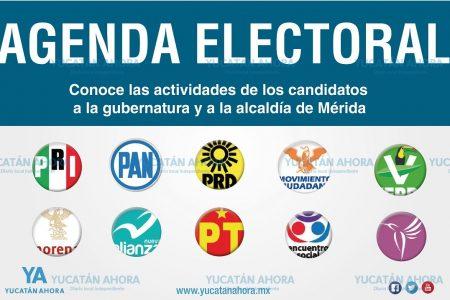 Agenda electoral viernes 6 de abril 2018