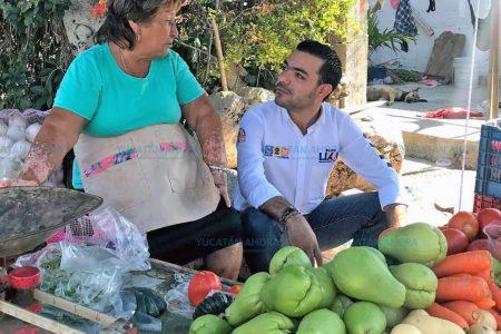 Elías Lixa propone mejorar condiciones para comercios
