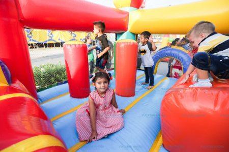 Animado cierre de la feria Vivan los Niños en Plaza El Patio