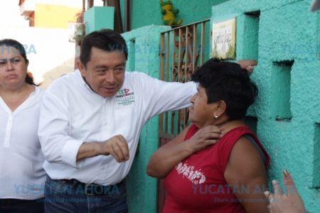 Crescencio Gutiérrez se compromete a trabajar de la mano con los meridanos