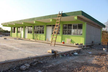 Avanza la construcción de nueva preparatoria en Kanasín