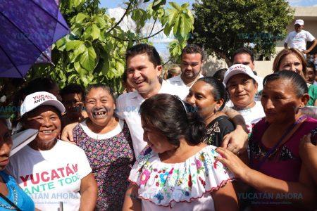 Vamos tras una mejora en la calidad de vida de las familias: Mauricio Sahuí