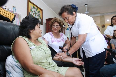 Los meridanos están confiando en el programa 'Médico a Domicilio'