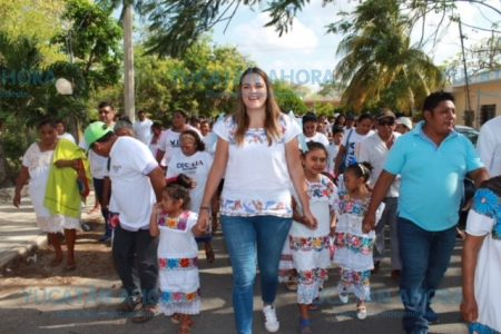 Cecilia Patrón ofrece promover programas para reforestar Mérida