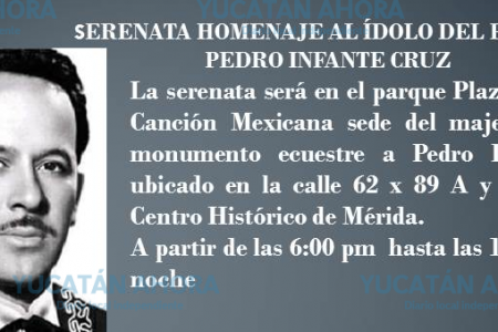 Una trágica mañana en Mérida y Pedro Infante se convirtió en leyenda
