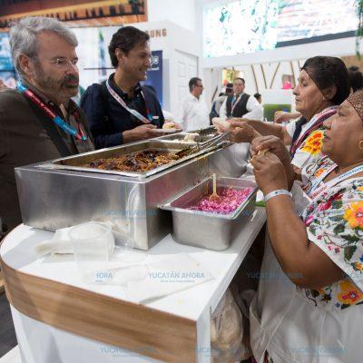 Comida yucateca causa sensación en Tianguis Turístico 2018