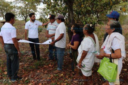 Luis Borjas ofrece trabajar por más apoyo al campo