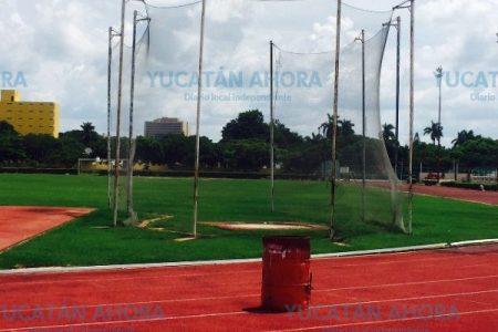 Atleta sufre grave lesión en el Estadio Salvador Alvarado en un entrenamiento