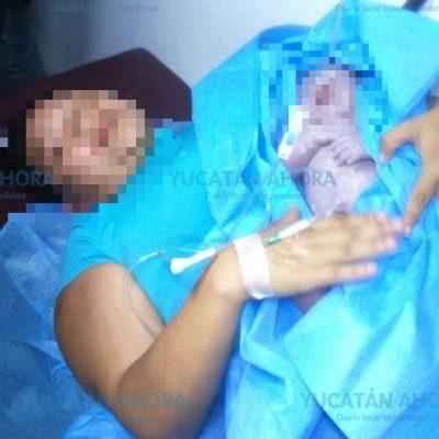 Otro bebé con prisa por nacer: ahora en la avenida Correa Rachó